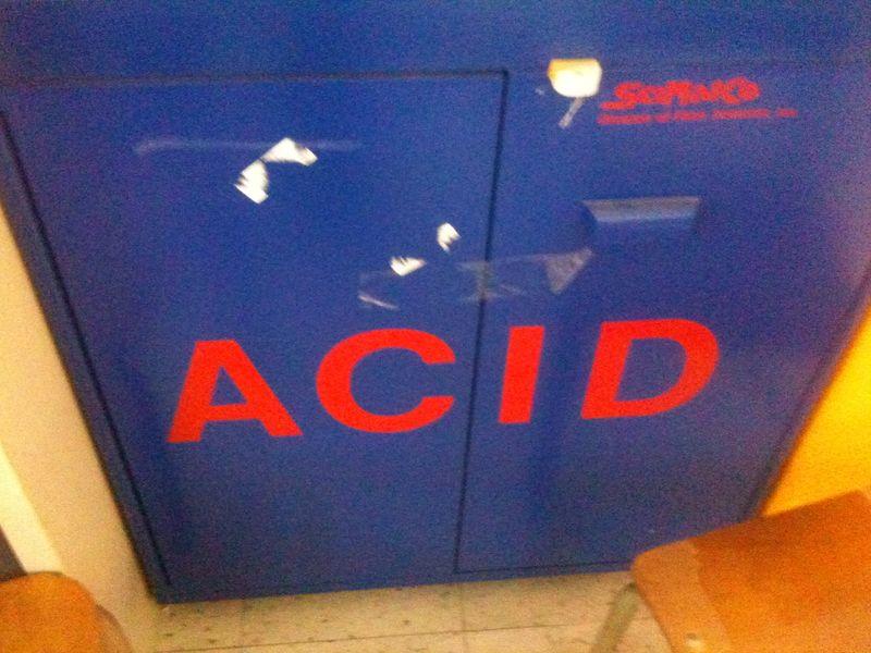 Acid- school