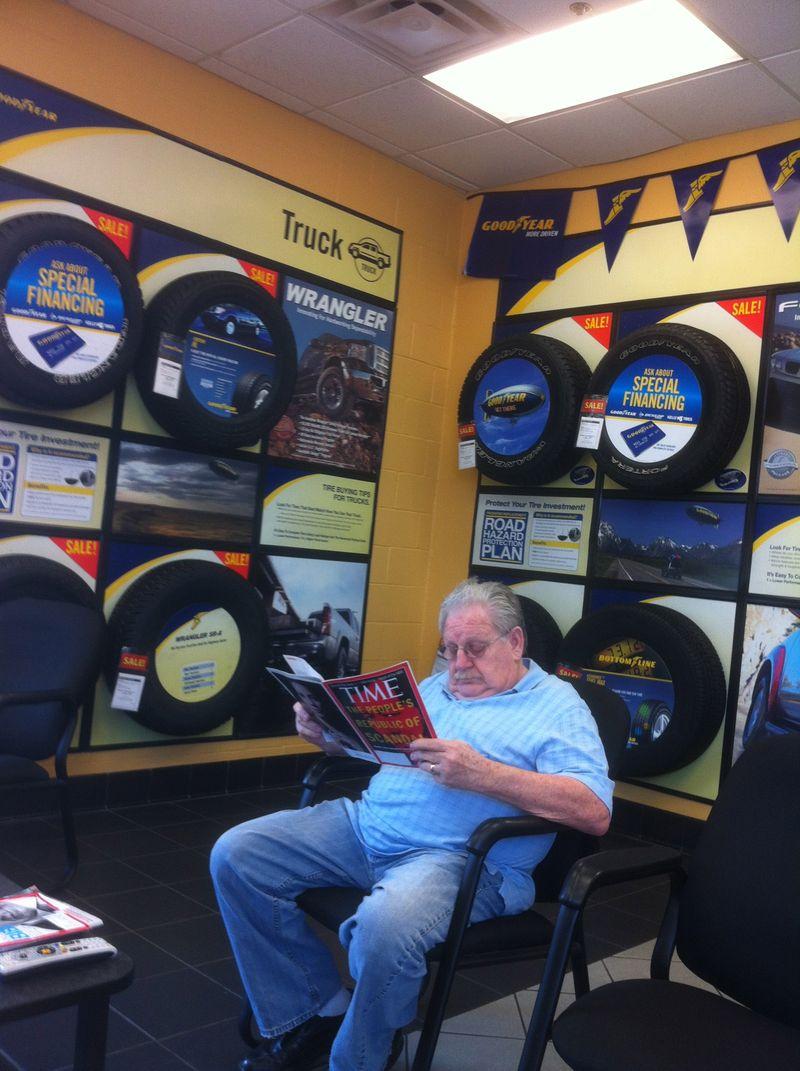 Reading at Goodyear