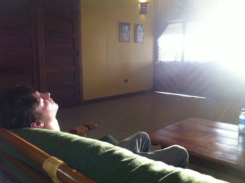 Elijah in sun