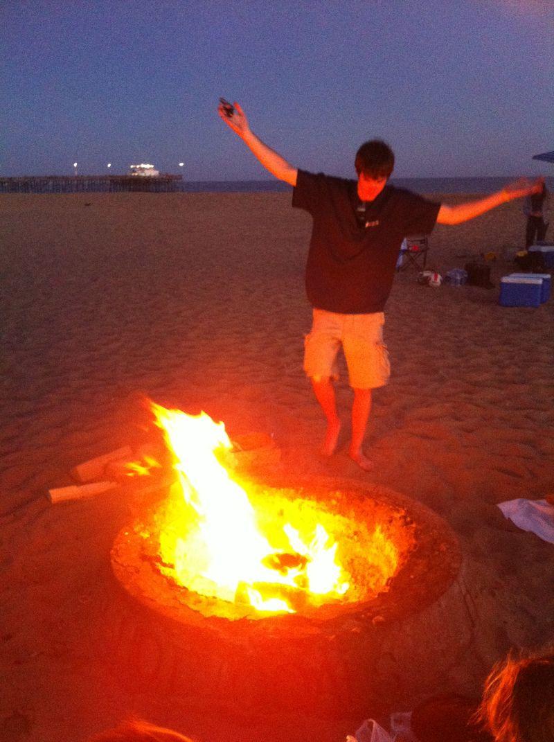 Castaway Fire Dance
