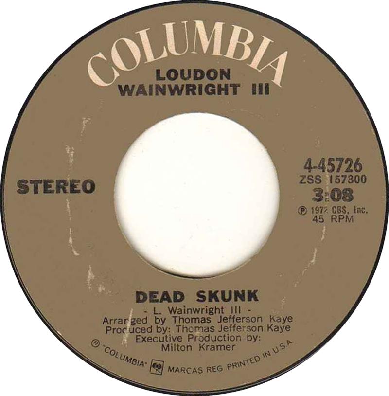 Loudon-wainwright-iii-dead-skunk-columbia