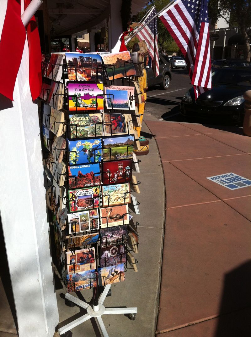The Postcard Rack