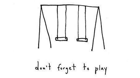 Play on swings