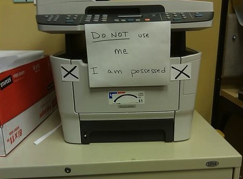 Funny-sign-copy-machine-possessed